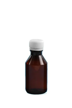 05.butelka apteczna 100 ml z nakrętką -sterylna