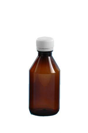 07.butelka apteczna 150 ml z nakrętką -sterylna